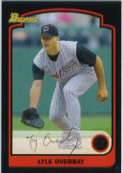 2003 Bowman Draft #13 Lyle Overbay
