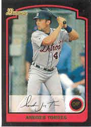 2003 Bowman Draft #15 Andres Torres
