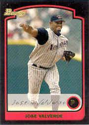 2003 Bowman Draft #16 Jose Valverde