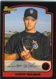 2003 Bowman Draft #17 Aaron Heilman