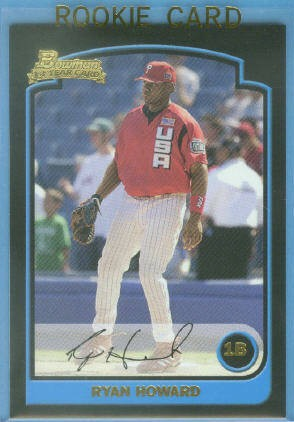 2003 Bowman Draft #138 Ryan Howard RC