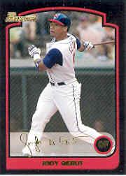 2003 Bowman Draft Gold #10 Jody Gerut