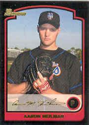 2003 Bowman Draft Gold #17 Aaron Heilman