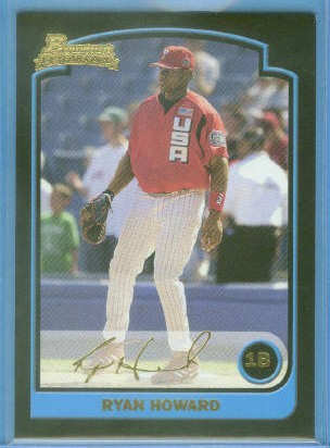 2003 Bowman Draft Gold #138 Ryan Howard