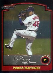 2003 Bowman Chrome #109 Pedro Martinez