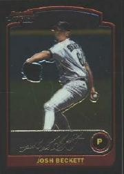 2003 Bowman Chrome #140 Josh Beckett