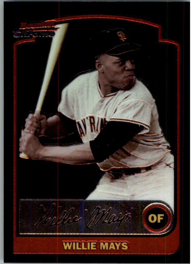 2003 Bowman Chrome #351 Willie Mays
