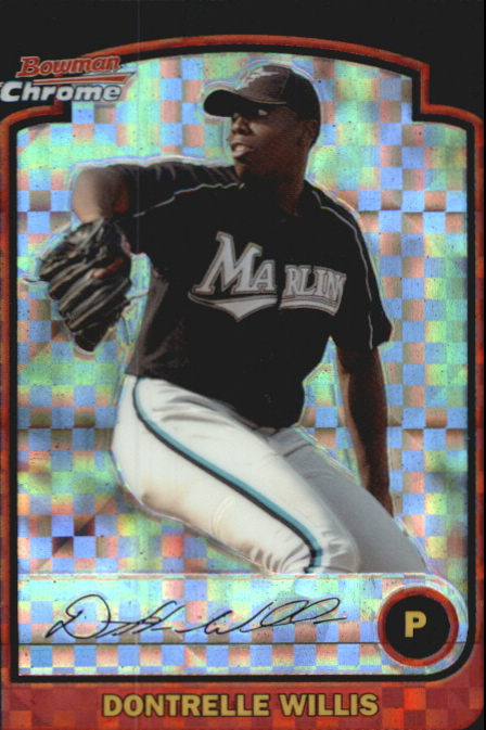 2003 Bowman Chrome Draft X-Fractors #1 Dontrelle Willis