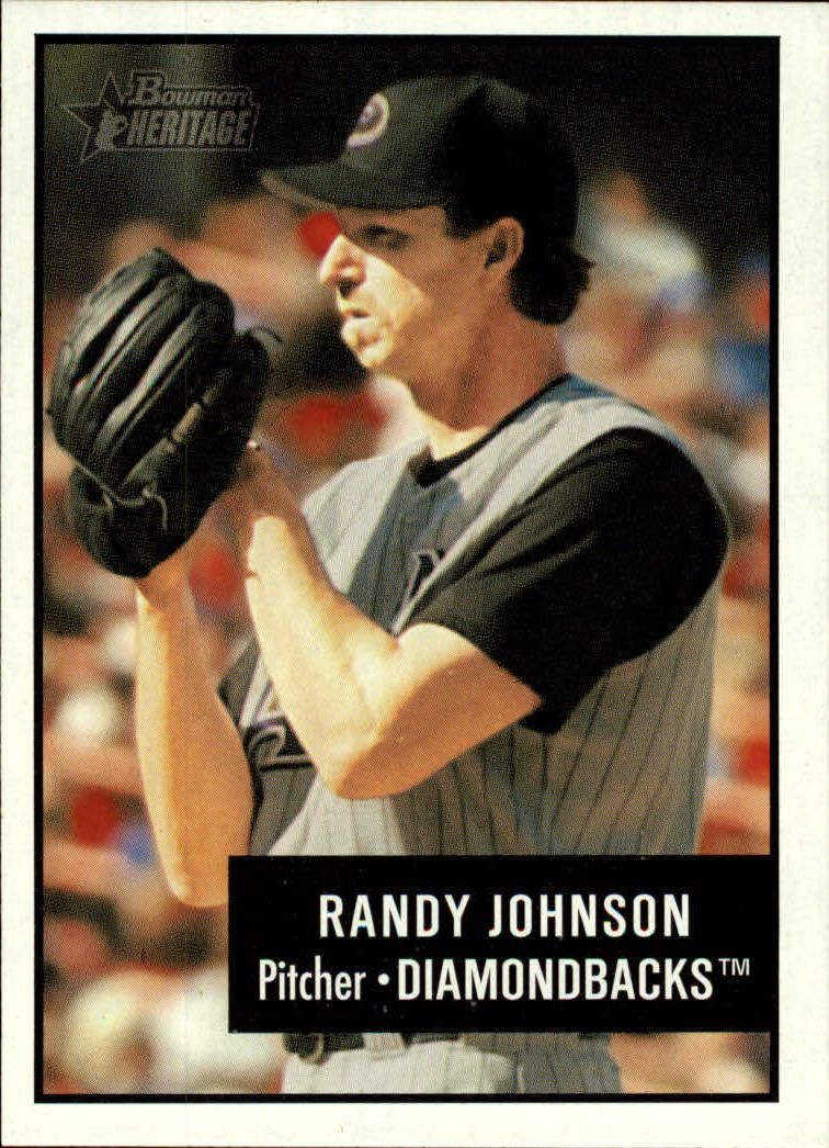 2003 Bowman Heritage #10 Randy Johnson