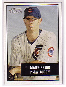 2003 Bowman Heritage #20 Mark Prior