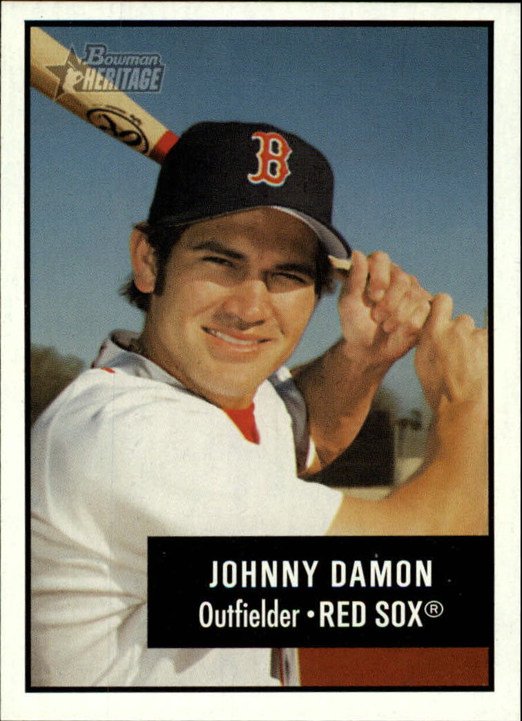 2003 Bowman Heritage #23 Johnny Damon