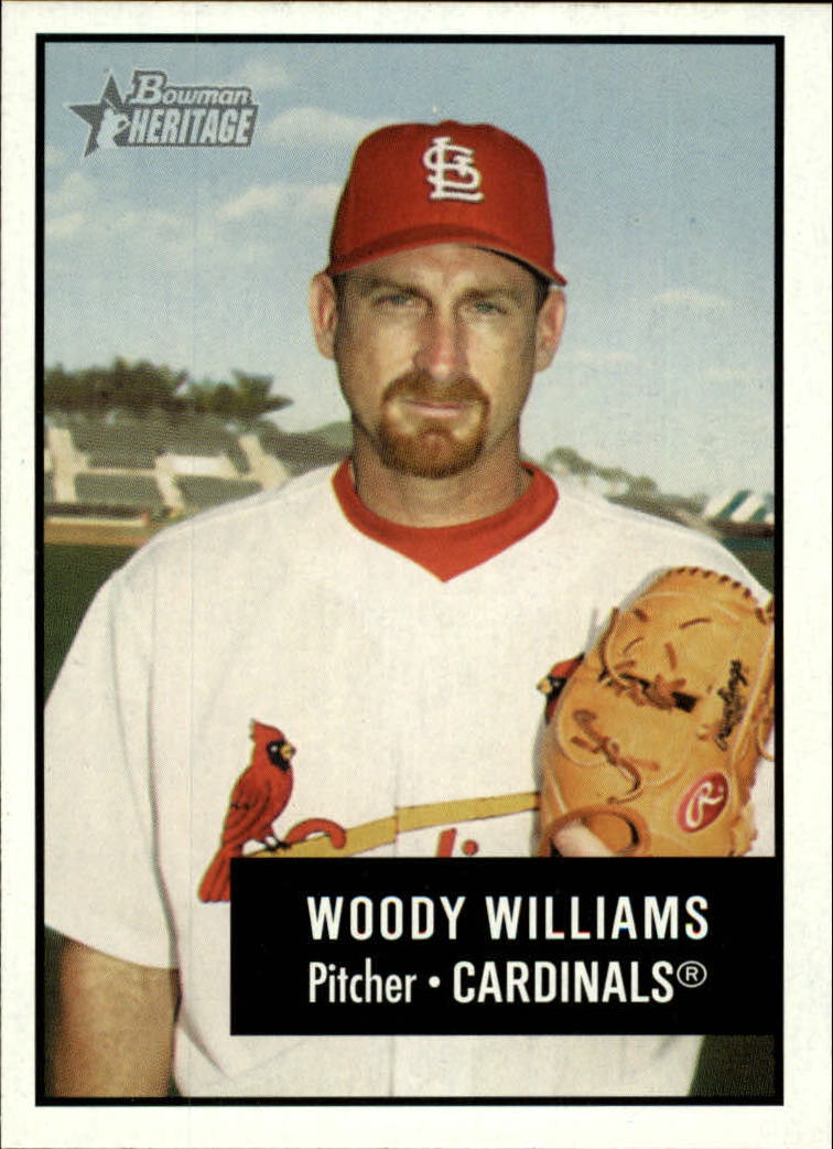 2003 Bowman Heritage #49 Woody Williams