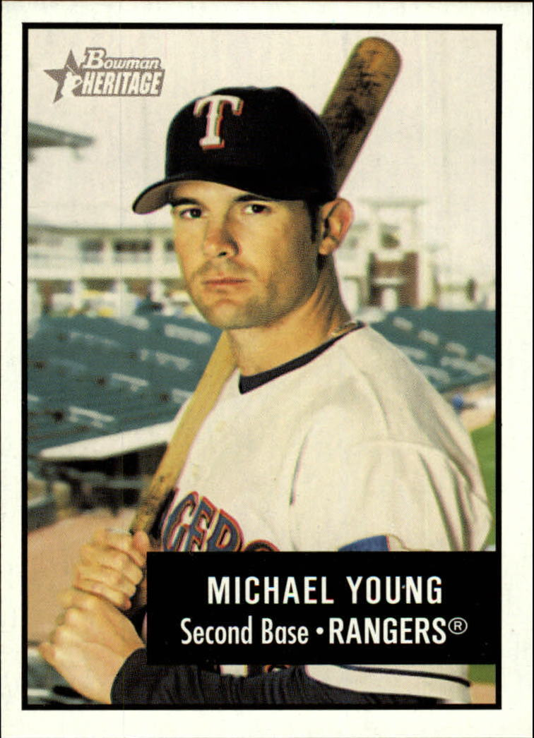 2003 Bowman Heritage #59 Michael Young