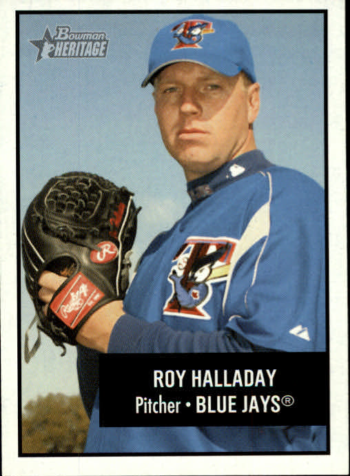 2003 Bowman Heritage #69 Roy Halladay