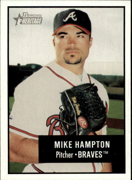 2003 Bowman Heritage #81 Mike Hampton