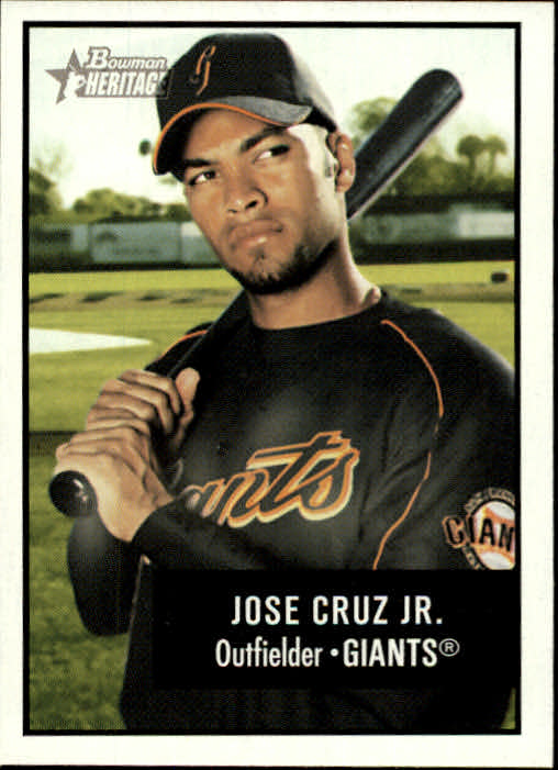 2003 Bowman Heritage #91 Jose Cruz Jr.