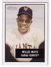 2003 Bowman Heritage #171A Willie Mays