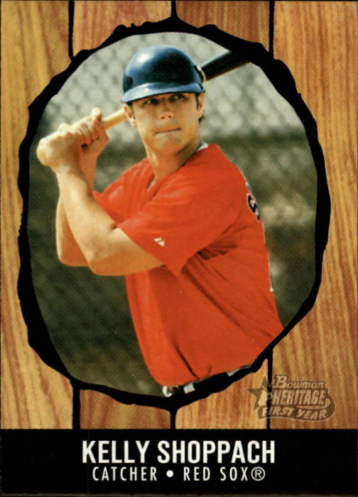 2003 Bowman Heritage #193 Kelly Shoppach KN RC