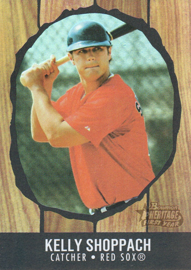 2003 Bowman Heritage Rainbow #193 Kelly Shoppach KN
