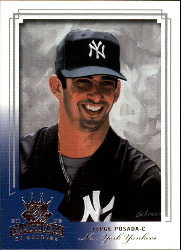 2003 Diamond Kings #43 Jorge Posada