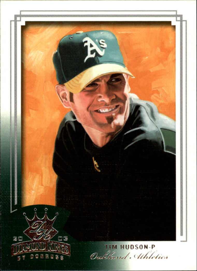 2003 Diamond Kings #48 Tim Hudson