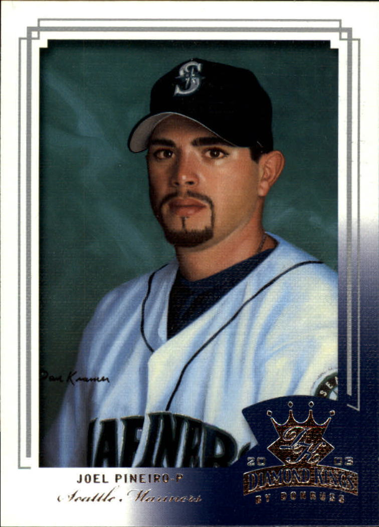 2003 Diamond Kings #58 Joel Pineiro