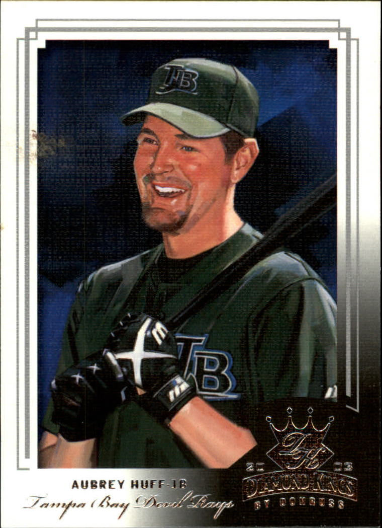 2003 Diamond Kings #61 Aubrey Huff