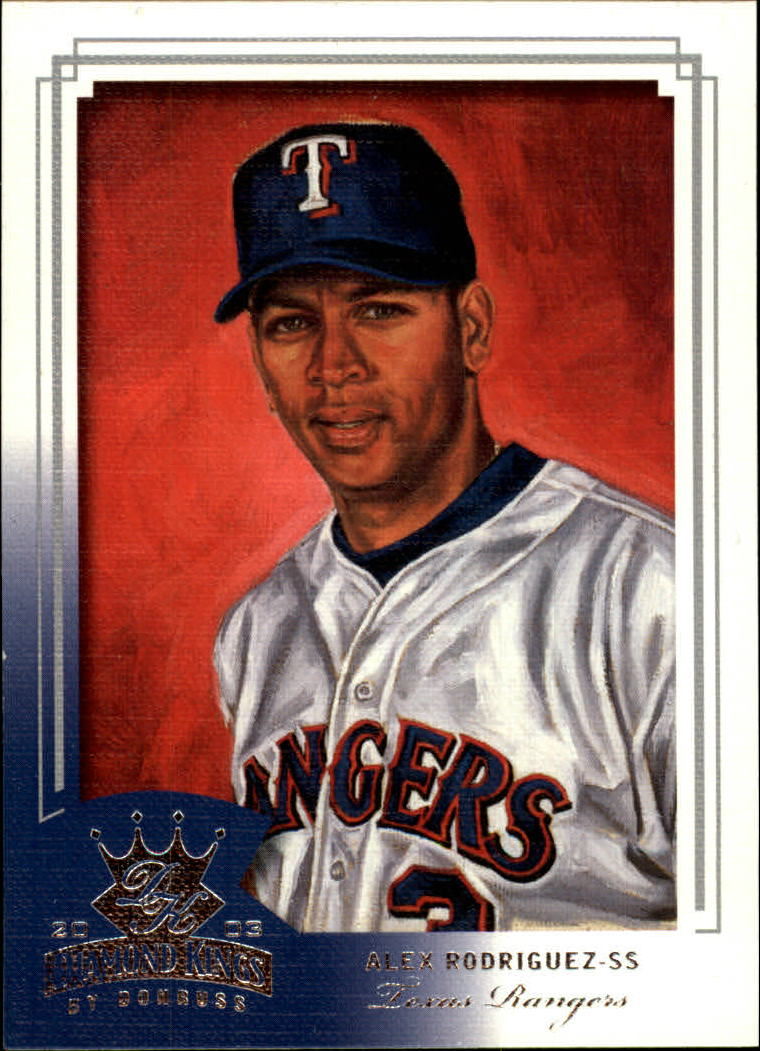 2003 Diamond Kings #64 Alex Rodriguez