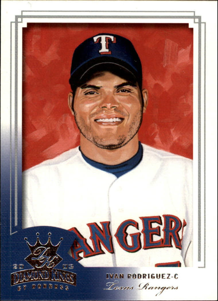2003 Diamond Kings #67 Ivan Rodriguez