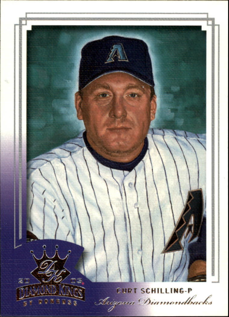 2003 Diamond Kings #74 Curt Schilling