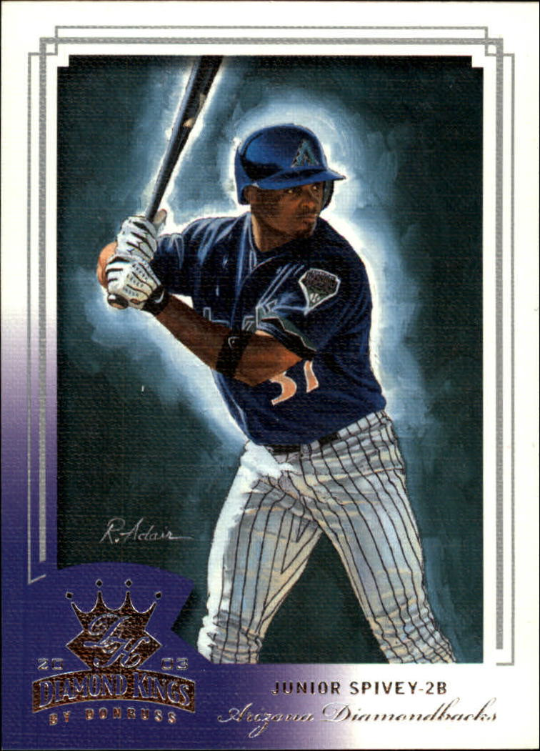 2003 Diamond Kings #78 Junior Spivey