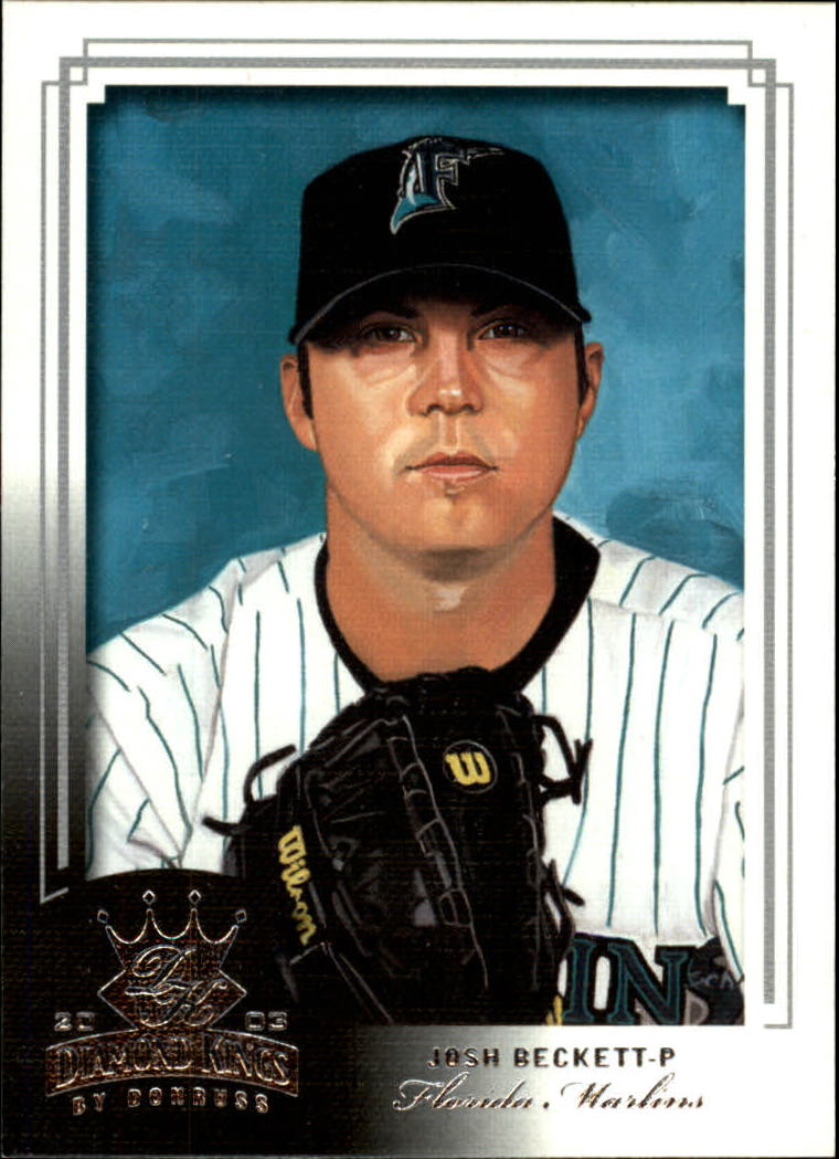 2003 Diamond Kings #99 Josh Beckett