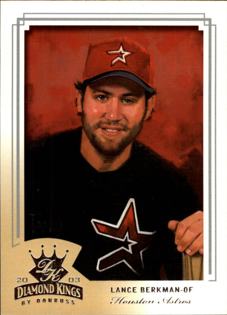 2003 Diamond Kings #104 Lance Berkman