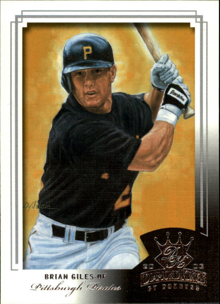 2003 Diamond Kings #132 Brian Giles