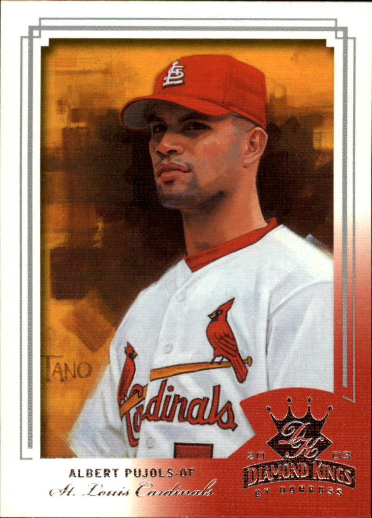 2003 Diamond Kings #147 Albert Pujols