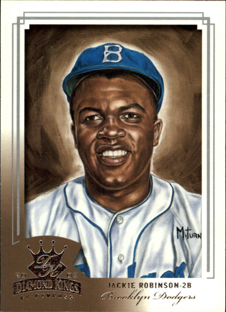 2003 Diamond Kings #160 Jackie Robinson RET