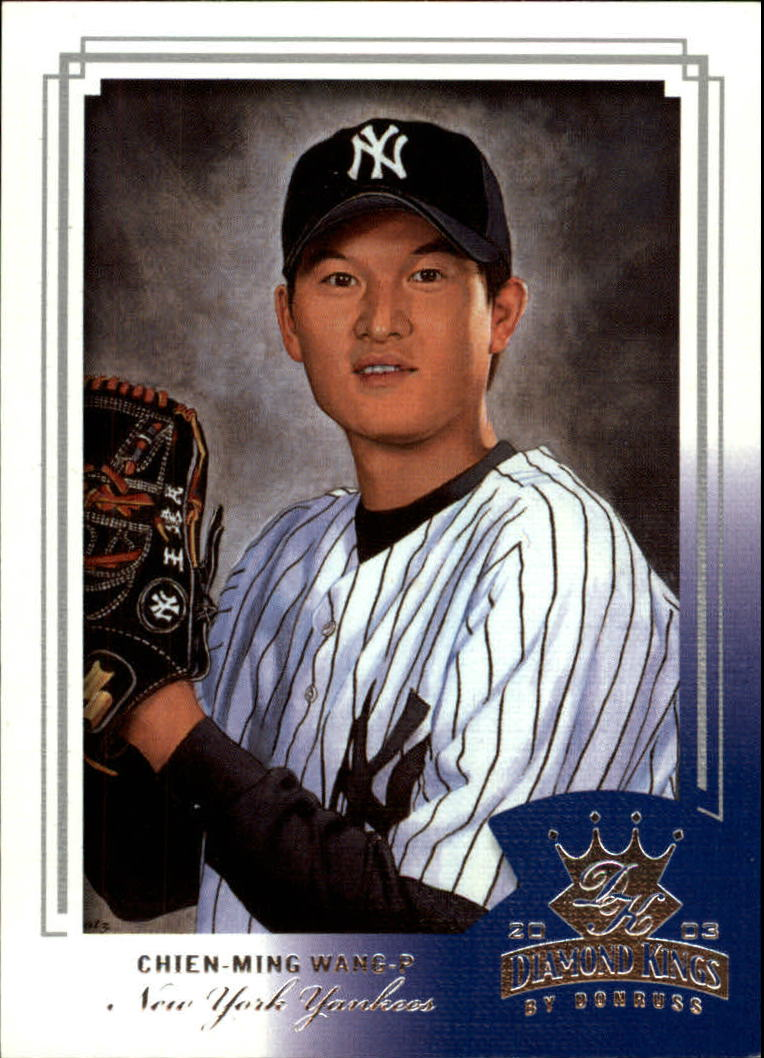 2003 Diamond Kings #181 Chien-Ming Wang ROO RC
