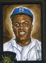 2003 Diamond Kings Gold Foil #160 Jackie Robinson RET