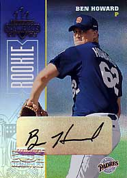 2003 Donruss Champions Autographs #213 Ben Howard/500