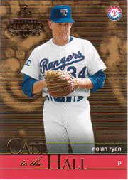2003 Donruss Champions Call to the Hall #1 Nolan Ryan