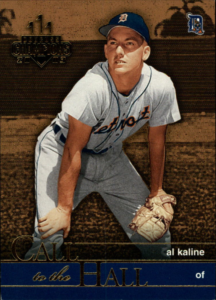 2003 Donruss Champions Call to the Hall #5 Al Kaline