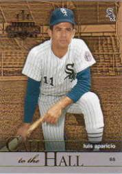 2003 Donruss Champions Call to the Hall #7 Luis Aparicio