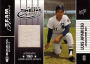2003 Donruss Team Heroes Timeline Threads #14 Luis Aparicio/69