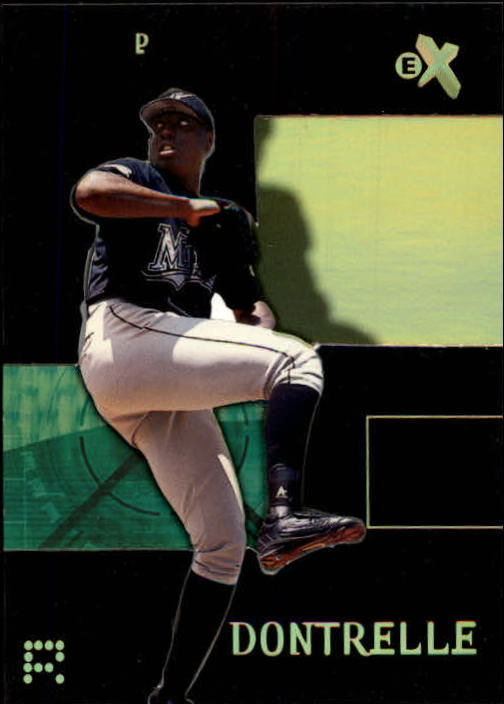 2003 E-X #86 Dontrelle Willis ROO SP
