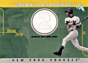 2003 E-X Behind the Numbers Game Jersey 500 #DJ Derek Jeter