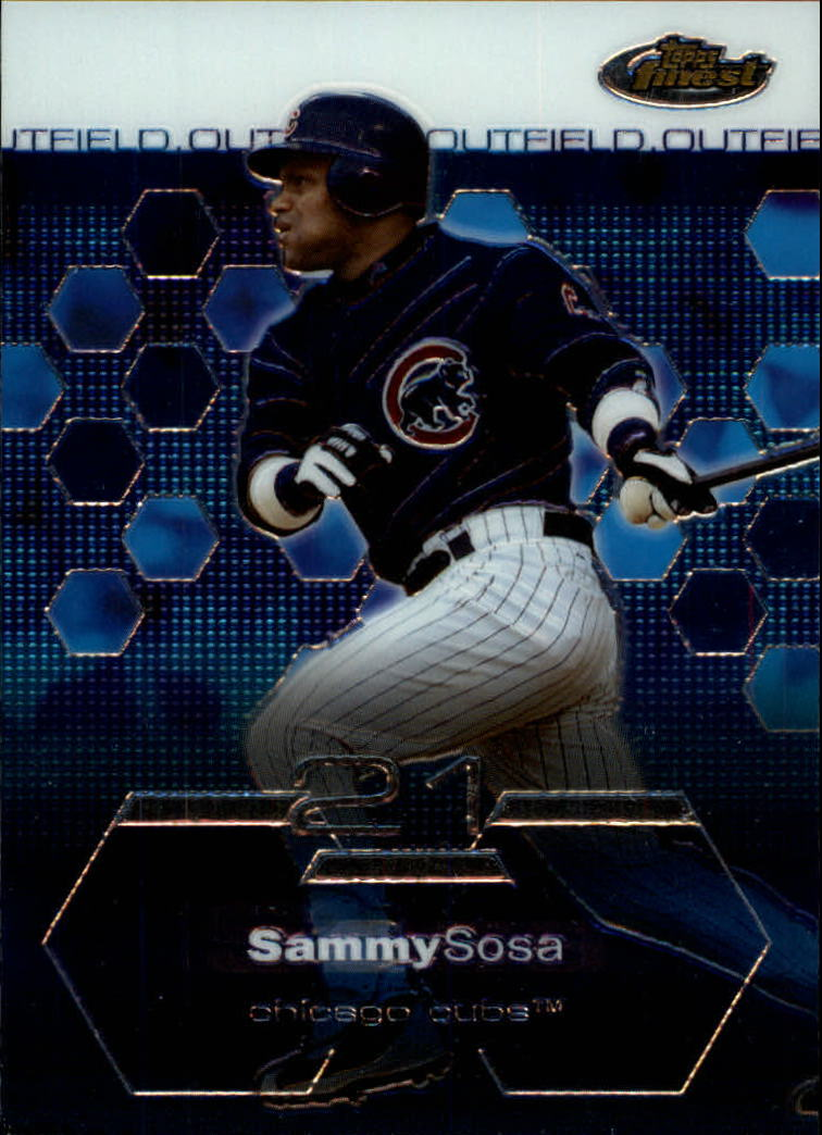 2003 Finest #1 Sammy Sosa