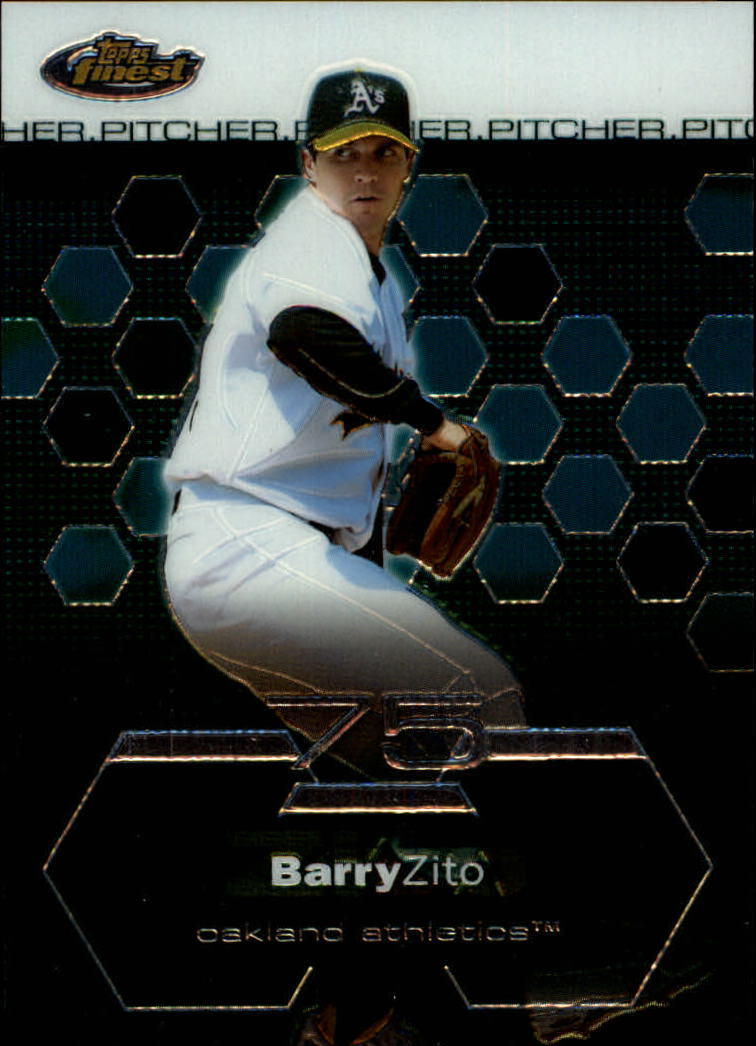2003 Finest #11 Barry Zito