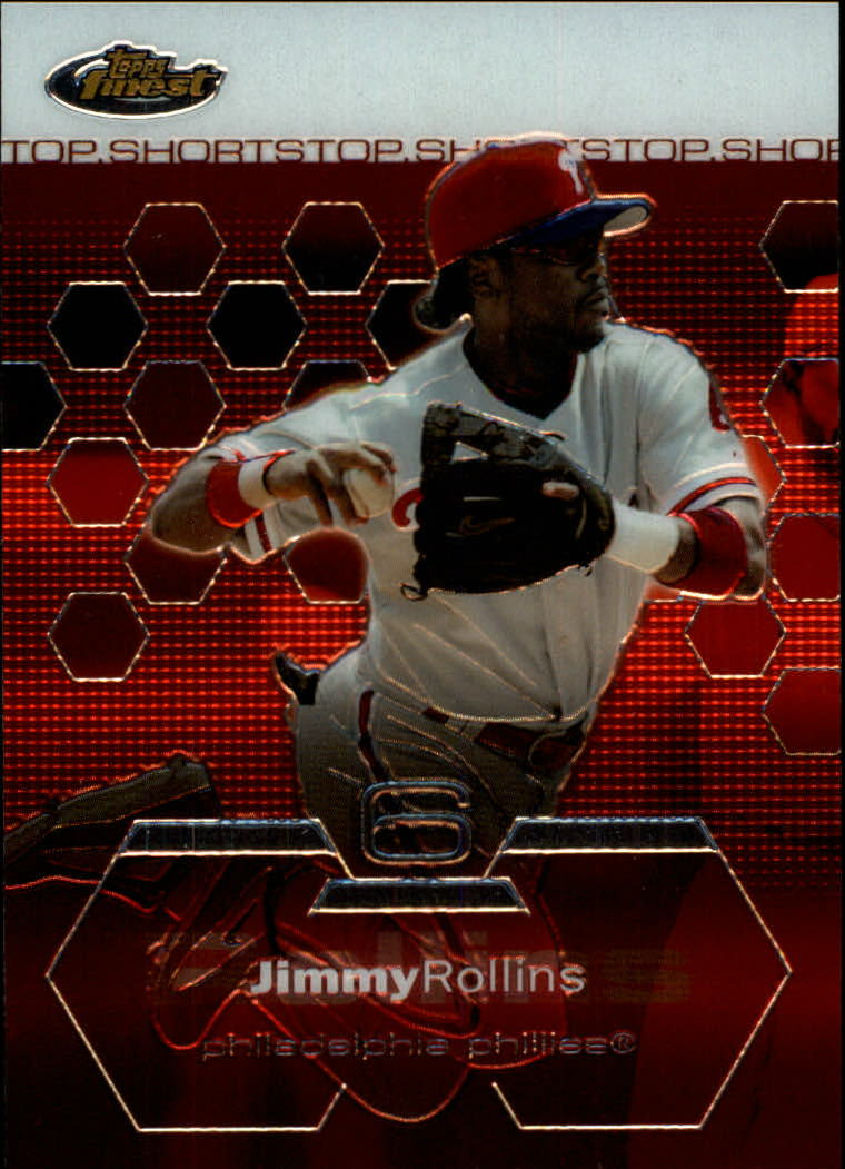 2003 Finest #12 Jimmy Rollins