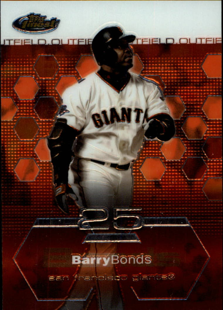 2003 Finest #20 Barry Bonds