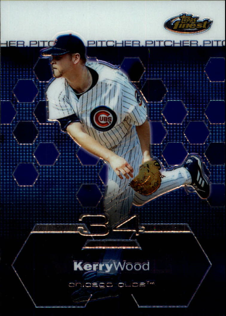2003 Finest #26 Kerry Wood